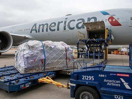 Cargo to America