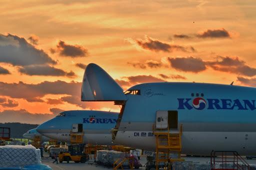 Cargo to Korea