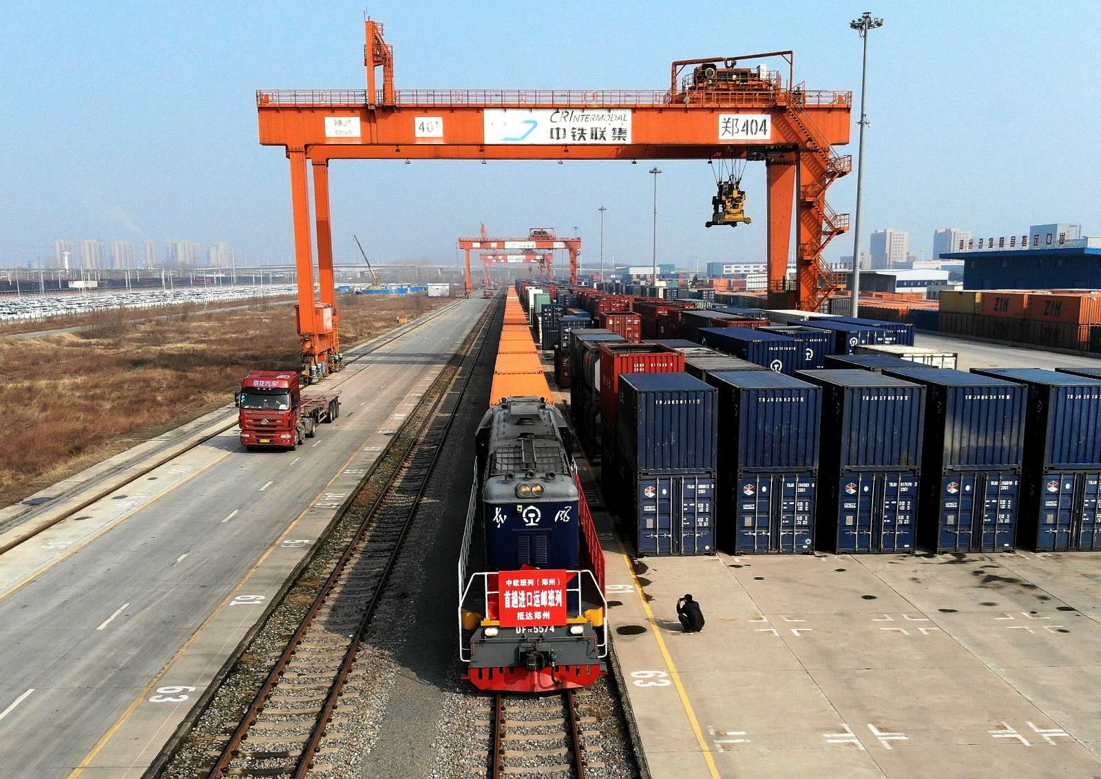 Cargo to China